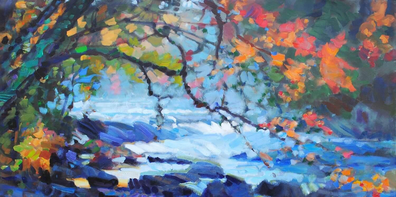 Mississauga art gallery Leif Ostlund works
